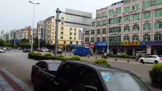 海南瓊海市街景1