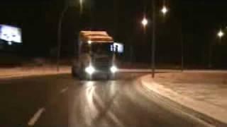 Drift Scania in Wroclaw/ Drift Scanią we Wrocławiu