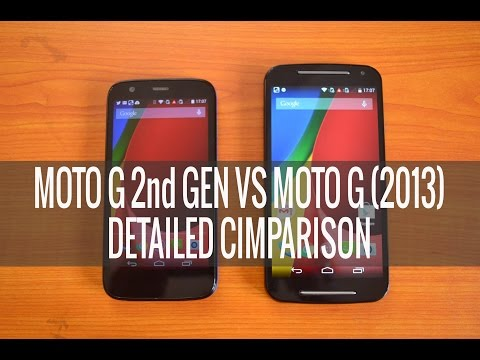 Moto G (2nd Gen) vs Moto G 2013- Detailed Comparison