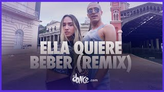 Ella Quiere Beber   - Anuel Aa Ft. Romeo Santos  Fitdance Life Coreografía Dance