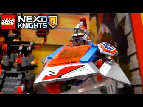 LEGO Nexo Knights 2016 Summer & Fall (Ultimate Axl, Diamond Lance, Magmar, Flama)