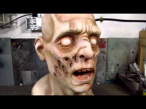 Zombie bust...in process!