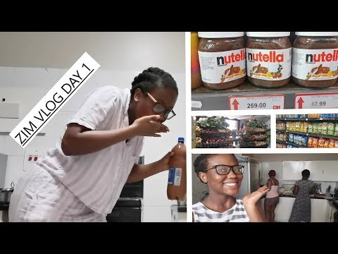 SHOPPING AND TRYING BEER IN ZIMBABWE | Zimbabwe Vlog Day 1  !!!