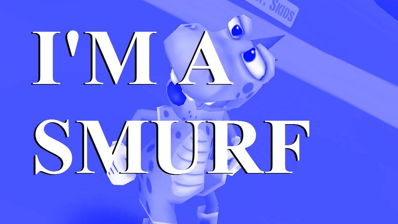 Im a Smurf by AmandaR - Studio Calico
