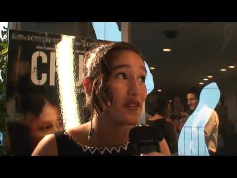Q'Orianka and Xihuaru Kilcher Interviewed By Ken Spector at Crude movie premiere LivingEcho com