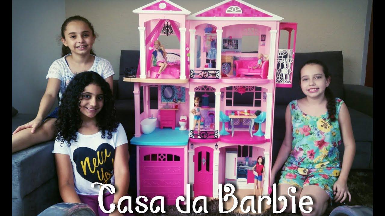 Barbie Dreamhouse Minha Casa Da Barbie Dreamhouse 2015 Casa Dos Sonhos Da