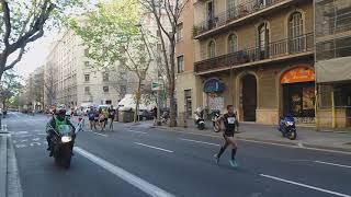 LA CURSA DEL CORTE INGLÉS DE BARCELONA. UNA MARAVILLA IMPRESIONANTE..