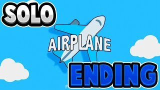 ¡Final Solitario! | Roblox Airplane