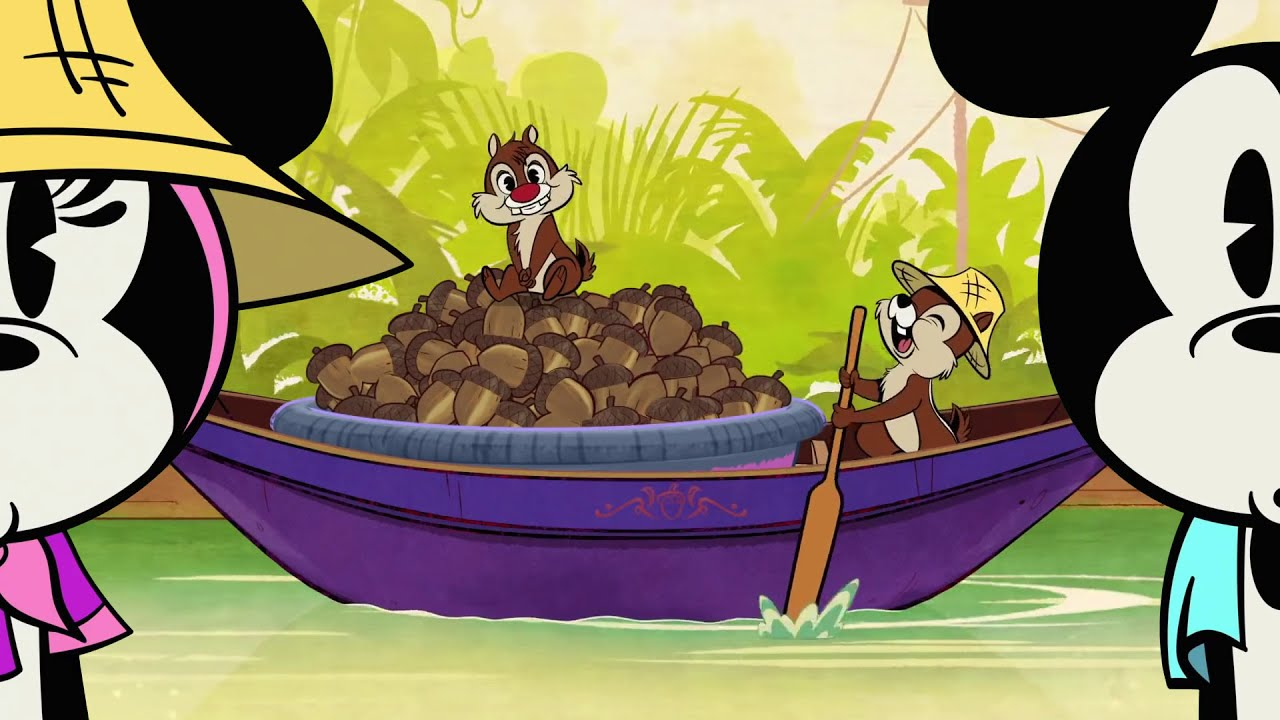 Chip and Dale sing in Thailand 🎶🌿(subtitles)