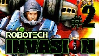 Robotech Invasion gameplay walkthrough Part 2 [PS2, XBOX]