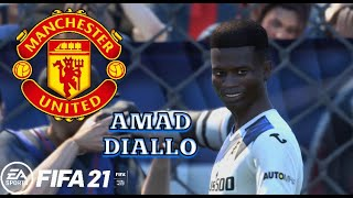 Amad Diallo - Welcome to Manchester United (Atalanta Highlights) - FIFA 21