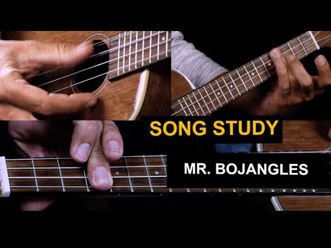 How to play Mr Bojangles on ukulele - tutorial and chords