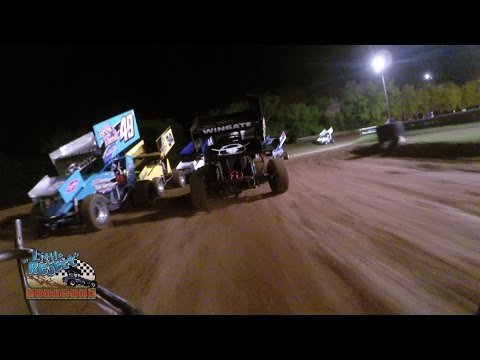 Tyler Thomas Onboard | Double X Speedway | May 1st, 2016