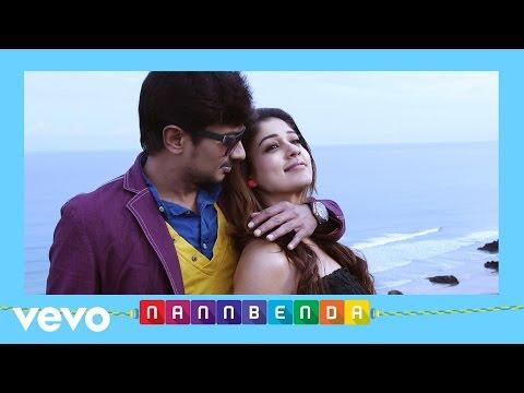 Nannbenda - Enai Marubadi Marubadi Lyric | Udhayanidhi Stalin, Nayanthara
