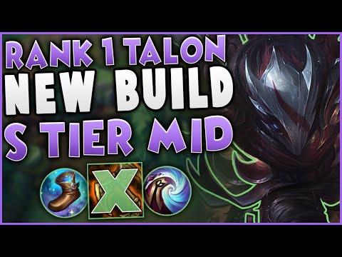 This New Talon Build Makes Him S Tier Mid   Challenger Talon Mid Gameplay
