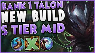 This New Talon Build Makes Him S Tier Mid | Challenger Talon Mid Gameplay