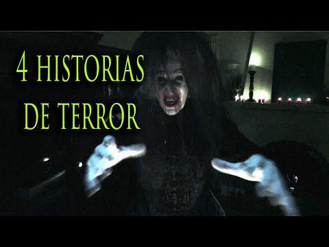 ESPECIAL: 4 HISTORIAS DE TERROR #RELATOSDELANOCHE
