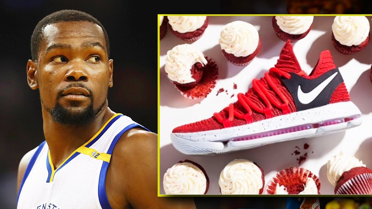 7fb7bc77181e Kevin Durant Releases Cupcake Shoes Dissing Russell Westbrook and Thunder  Fans