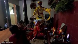 hầu thánh thanh đồng cô bé trẻ ở lạng Sơn được lên thąnh đồng trẻ đẹp nhất lạng Sơn