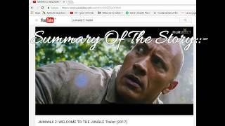 (Hindi/Urdu)JUMANJI 2 : WELCOME TO THE JUNGLE Trailer Teaser (2017) |Explanation by YouTube