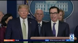 Trump Admin Proposes $850-billion Stimulus Plan