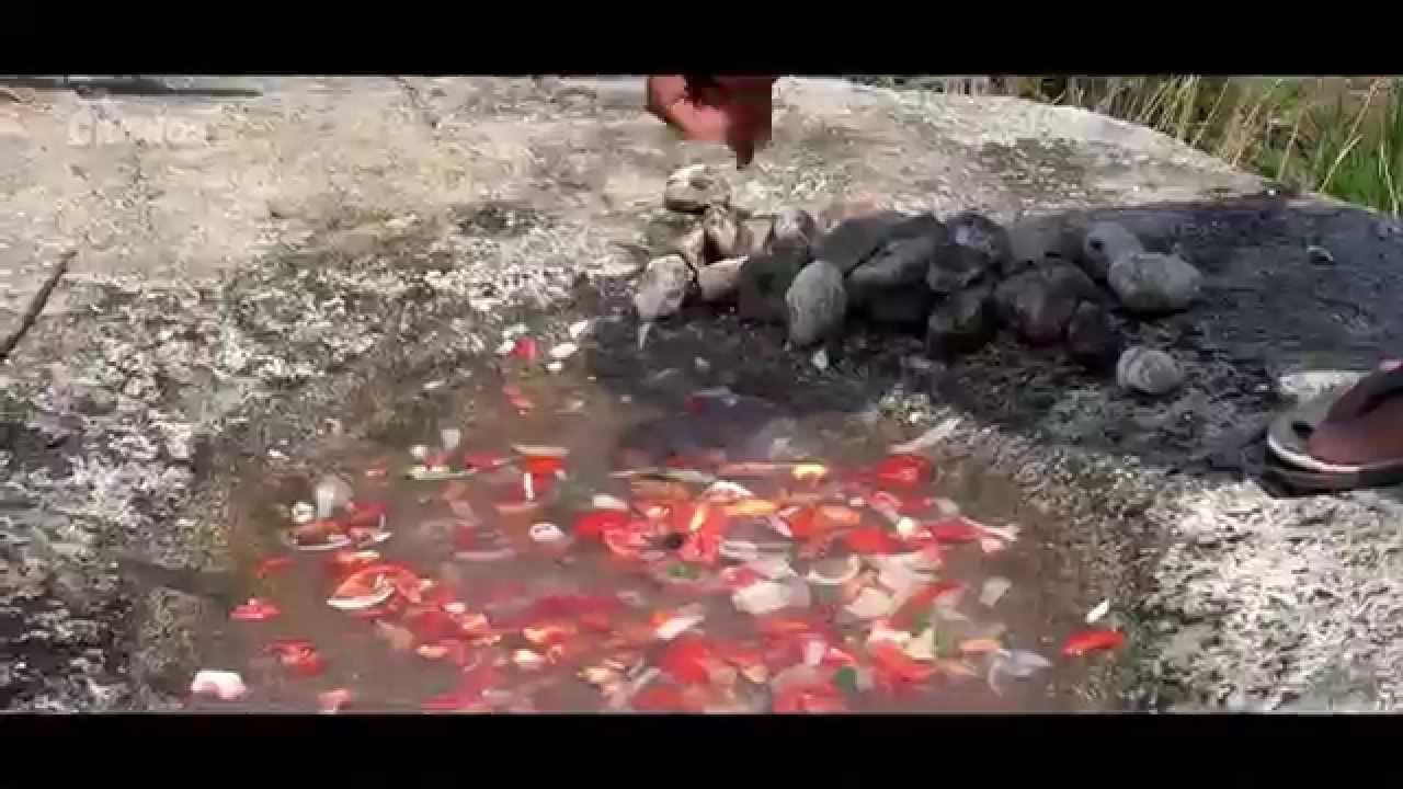 Caldo de piedra - Estelares de Oaxaca - YouTube