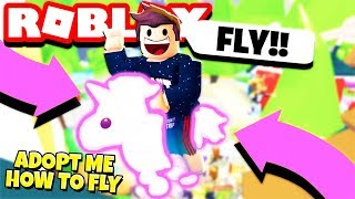 Comment FLY dans Adopt Me! Flying NEON UNICORN Pet (Roblox)