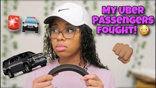 STORYTIME: My Uber Passengers Fought!   Made Me Quit Lyft/Uber