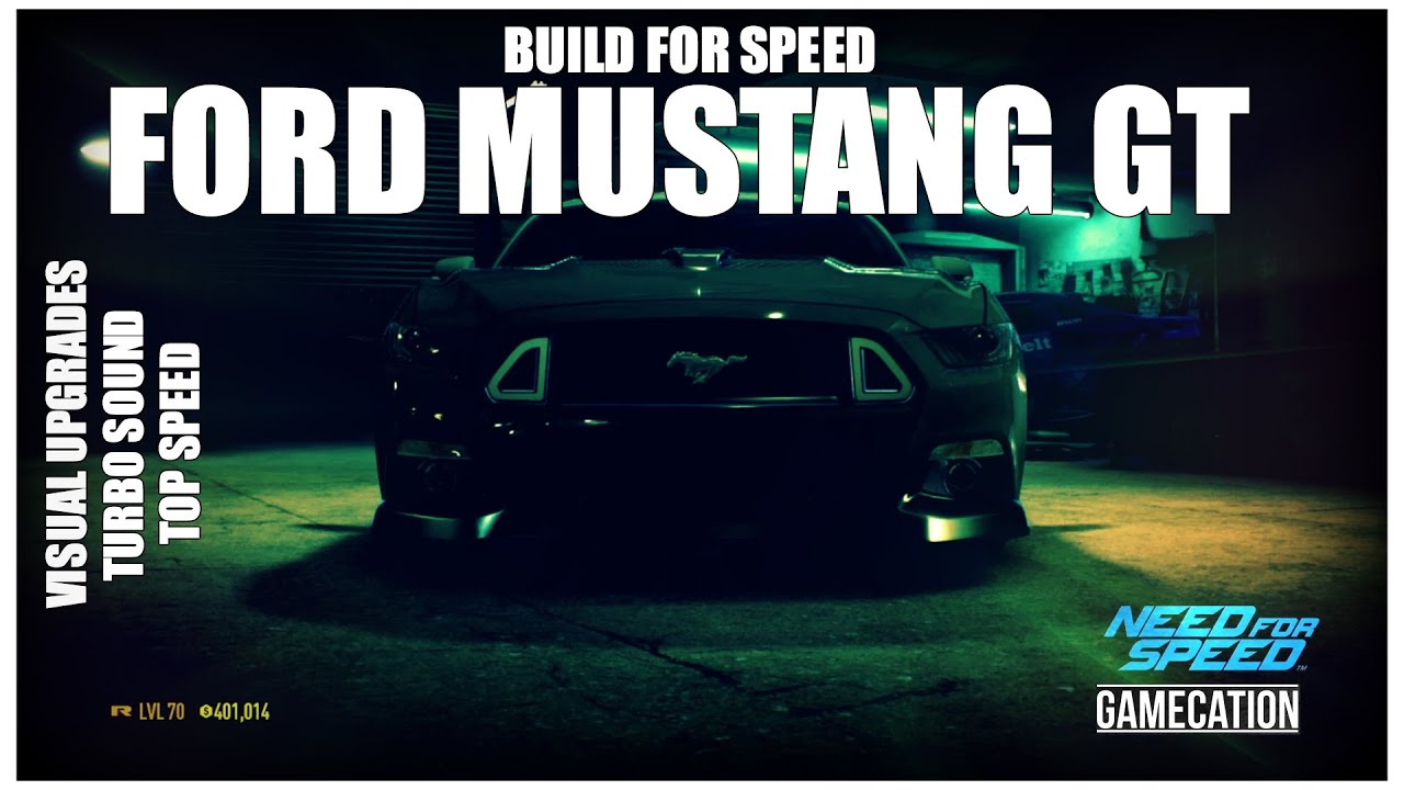 need for speed 2015 ford mustang gt customization top. Black Bedroom Furniture Sets. Home Design Ideas
