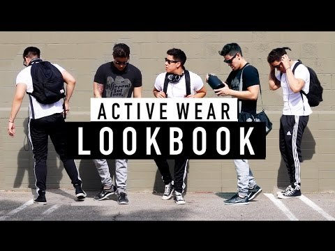 ACTIVE WEAR LOOKBOOK  4 OUTFITS FOR THE GYM   JAIRWOO