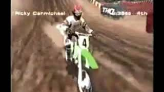 MX 2002 Featuring Ricky Carmichael PS2 Video Game Ad (2001) (windowboxed) (low quality)