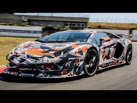 The Lamborghini Aventador SVJ Walkaround   Top Gear