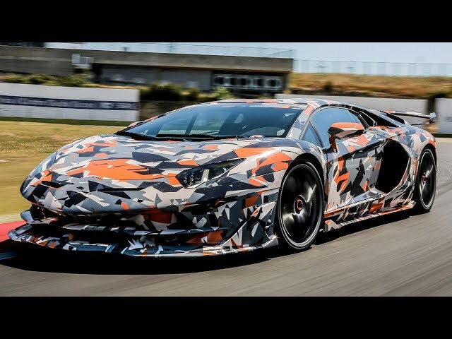 The Lamborghini Aventador SVJ Walkaround | Top Gear
