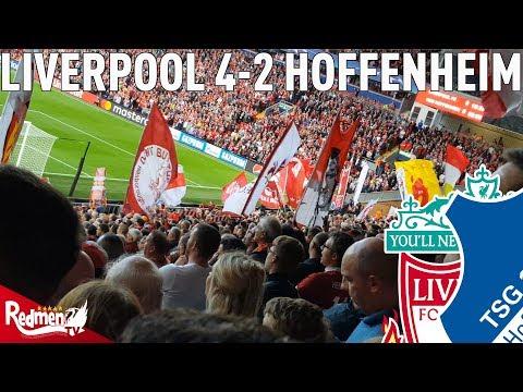 You'll Never Walk Alone   Liverpool v 1899 Hoffenheim 4-2