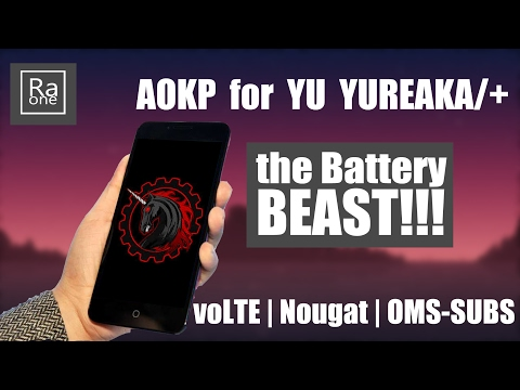 AOKP ROM for YU YUREKA and YUREKA+