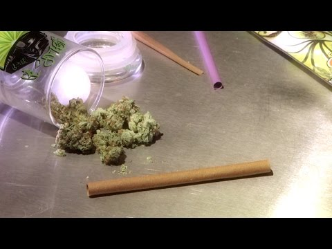 How to roll Blunt