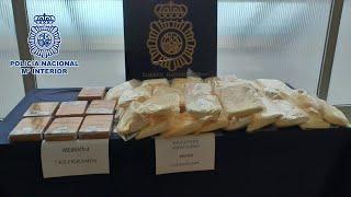 Incautan 66 kilos de 'speed' y 7 de heroína en una operación contra el tráfico de drogas