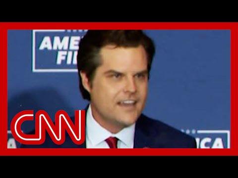 Matt Gaetz attacks Paul Ryan ahead of speech