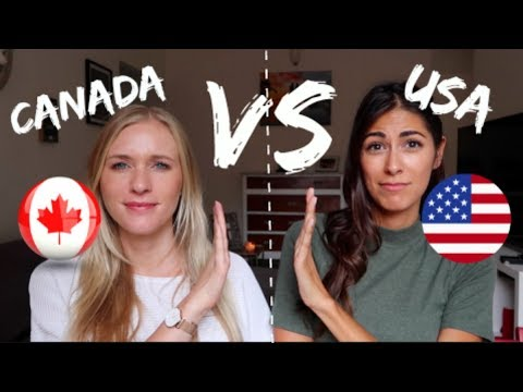 CANADA VS USA | WE AREN'T THE SAME! from YouTube · Duration:  13 minutes 28 seconds
