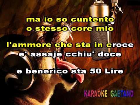 Patrizio 50 Lire E Felicita' Karaoke