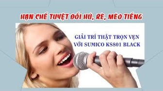 Loa Karaoke Sumico KS801 Black