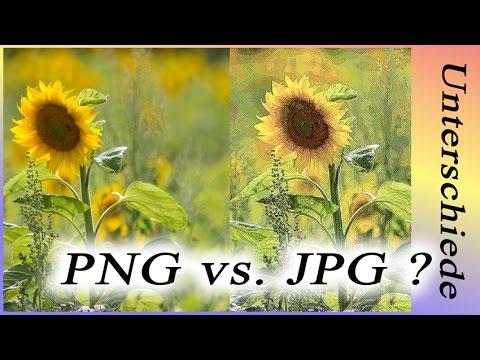 Der Unterschied:   JPG & PNG (RAW/DNG), für Anfänger!