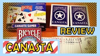 Deck Review - Bicycle Canasta