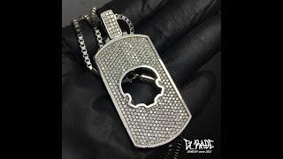 G_RADE Jewelry 지레이드 쥬얼리 [Gem Rectangle Opening Logo Necklace…