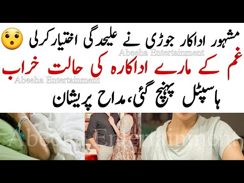 Famous Celebrity Couple Separated||Abeeha Entertainment ||AE