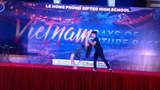 [Múa đương đại] Crazy in love-Take me to church Diệu Linh Việt Anh 11e2 LHP