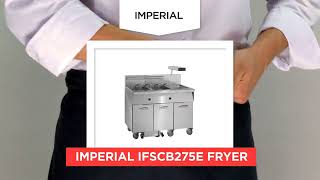 Imperial IFSCB275E Fryer