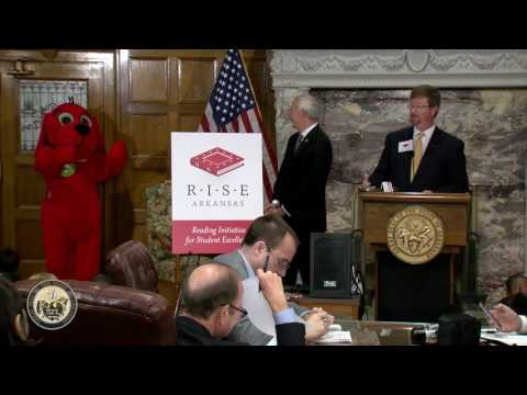 Gov. Asa Hutchinson and Dept. of Education Launch Reading Initiative