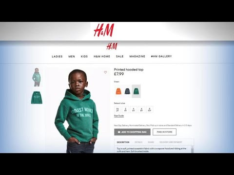 H&M faces criticism over message on sweatshirt