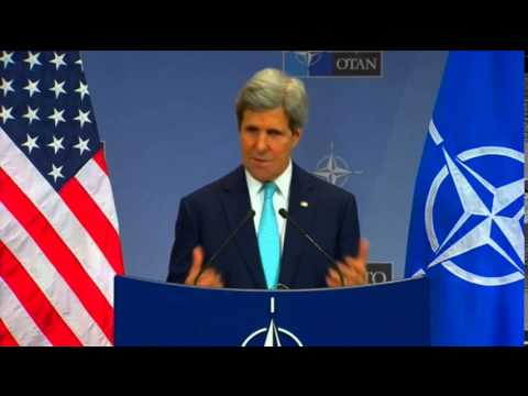 Secretary Kerry Delivers Remarks at NATO